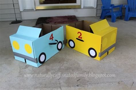 box car for kids cardboard box cars boy birthday ideas pinterest hold