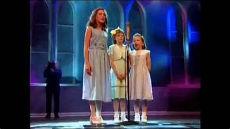 """1980, the swing of delight: The Little Wharvey Gals (Leah, Sarah, and Hannah Peasall) - """"In the Highways, In the Hedges"""" HD ..."""