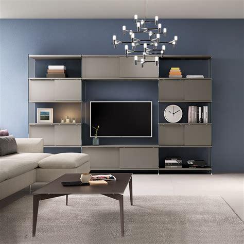 libreria parete libreria da parete attrezzata porta tv 308 x 200 cm byblos7
