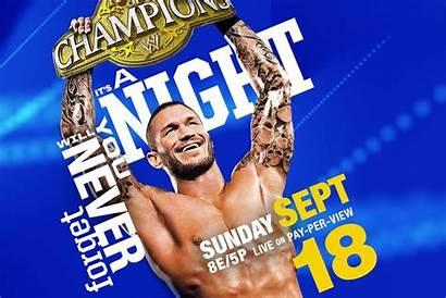 Champions Night Wwe Poster Orton Randy Via