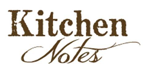 Kitchen Notes kitchen notes restaurant omni nashville hotel