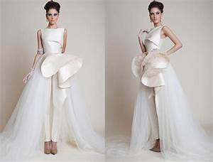 comfort feel wedding pantsuit ideas weddceremonycom With wedding dress pants