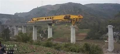 Bridge Erect Mega Machine Construction Tweet Casey
