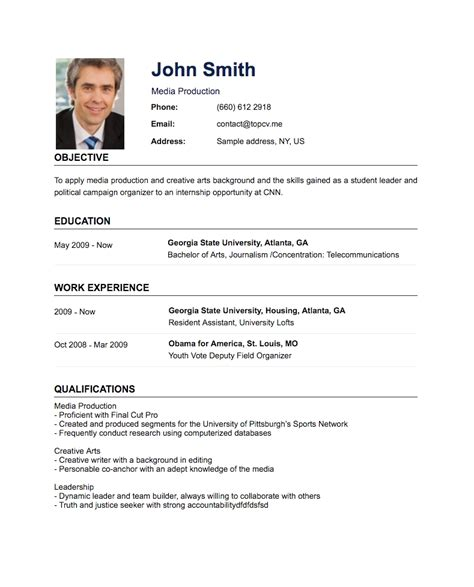 Make A Simple Resume by How To Create A Resume Letters Free Sle Letters