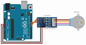 Arduino   Stepper  Uln2003a