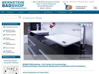 Bernstein Badshop Erfahrungen by 1 Bewertung F 252 R Bernstein Badshop De