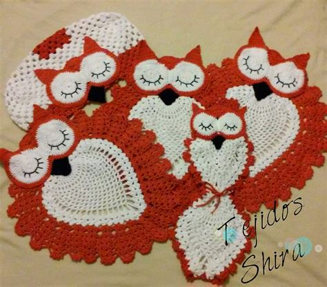 crochet owl bath sets owl bathroom set