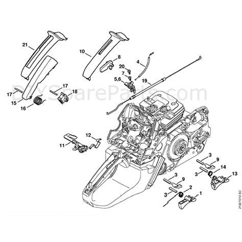 stihl  chainsaw parts manual