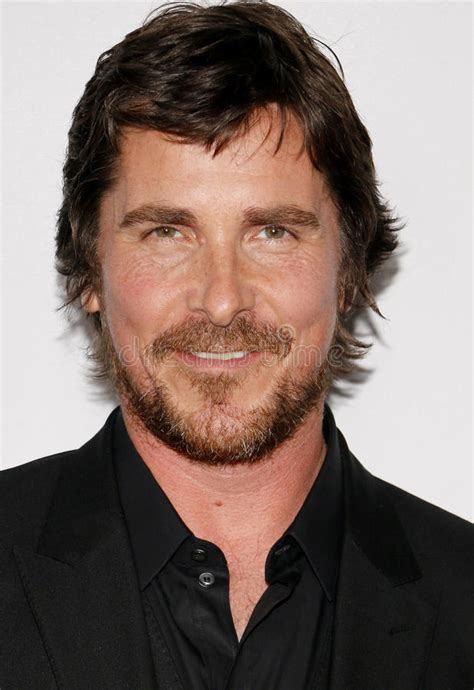 Christian Bale Editorial Image Film Event