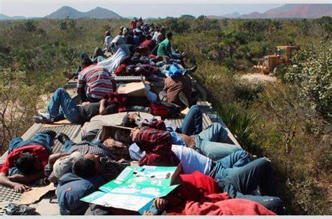 La Peligrosa Huida De Los Migrantes A Través Del Tren De