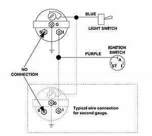 3 Wire Voltmeter Wiring Diagram