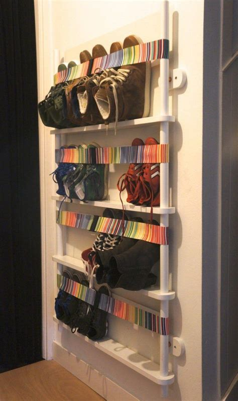 interior designrange chaussures mural rangement chaussures original en idees super creatives