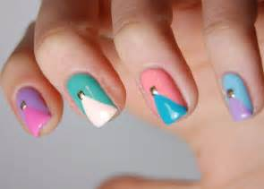 Spring summer nail art designs colors stylo planet