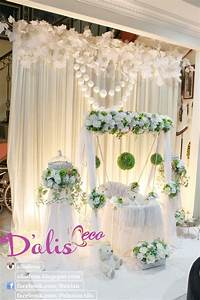 Simple deco Decoration baby cradle for naming ceremony ...