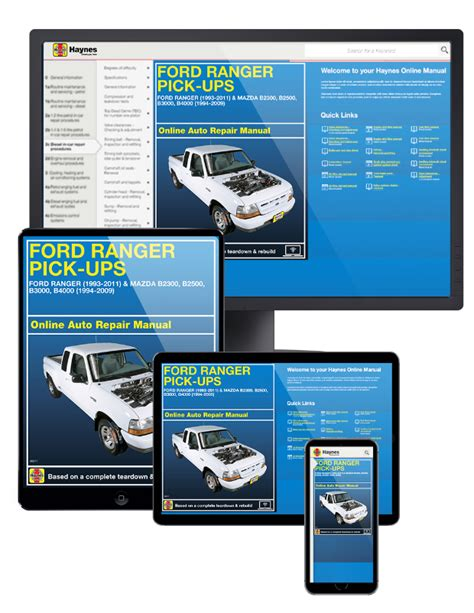 online service manuals 2001 ford f series spare parts catalogs ford ranger mazda pick ups online service manual 1993 2011