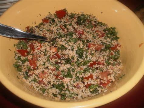 cours cuisine libanaise taboulé libanais brèves de cuisine
