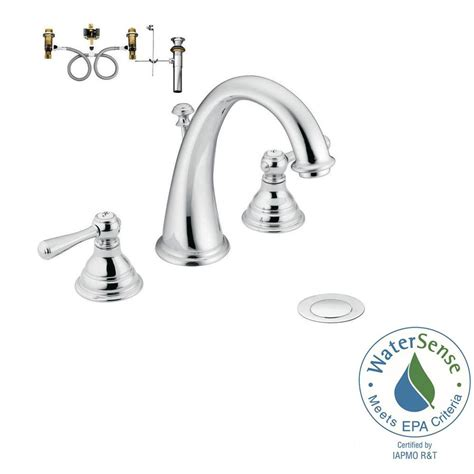 moen kingsley widespread lavatory faucet moen kingsley 8 in widespread 2 handle high arc bathroom