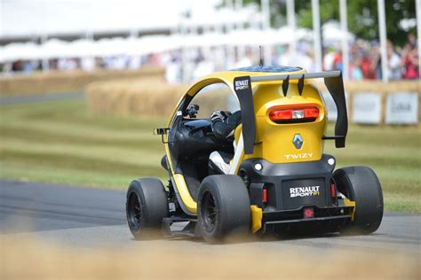 renault twizy top speed renault twizy rear 2013 goodwood festival of speed