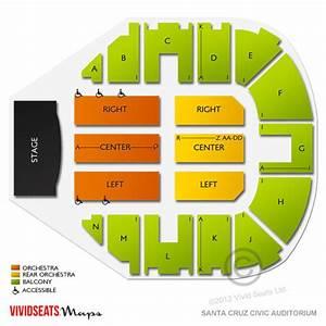 Santa Cruz Civic Seating Chart Santa Cruz Civic Auditorium Tickets Santa Cruz Civic