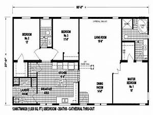 1998 Champion Mobile Home Floor Plans
