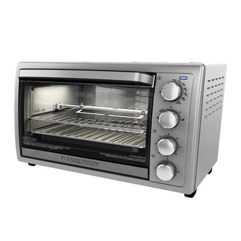 best black and decker toaster oven black decker 9 slice silver toaster oven to4314ssd the