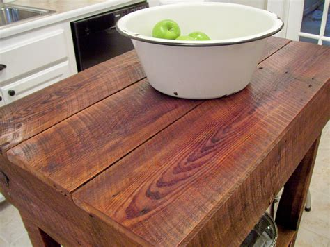 build kitchen island table vintage home love how to build a rustic kitchen table island