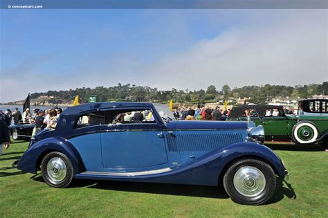1937 Rolls Royce by 1937 Rolls Royce Phantom Iii At The Pebble Concours