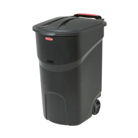 Rubbermaid Roughneck 45 Gal Black Wheeled Trash Can With. Petroleum Engineering Online Courses. Sedation Dentistry Las Vegas. Online Accredited Mba Program. Executive Suites Houston Texas