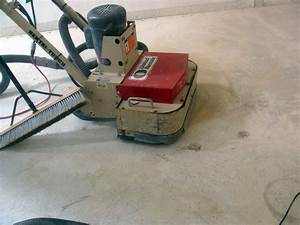 Installing hardwood flooring over concrete how tos diy for Can you sand a floor with a hand sander