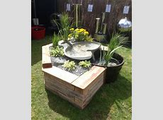 Yorkshire Water Features Raised Bed Waterfall Feature