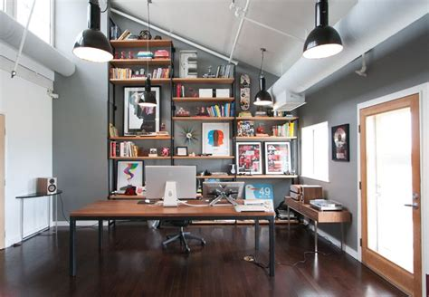 modern rustic office design office snd cyn rustic modern interior design interior design pinterest shelves modern