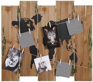 Home Affaire Deko : home affaire deko holzbrett weltkarte kaufen otto ~ Watch28wear.com Haus und Dekorationen