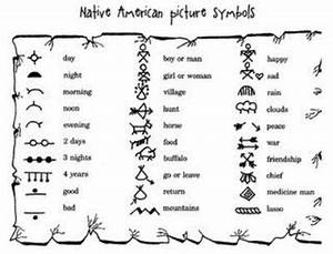 Native American Picture Symbols / Preschool items - Juxtapost