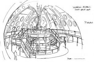 Doctor Who TARDIS Interior Coloring Pages