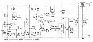 Fm Oscillator Frequency Stabilization Circuit Diagram