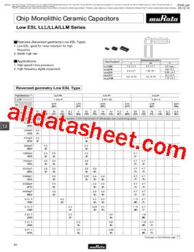 Llm315 Datasheet(pdf)  Murata Manufacturing Co, Ltd