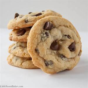 Best Chocolate Chip Cookies - Little Sweet Baker