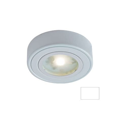 puck lights lowes shop dals lighting 3 in hardwired in puck light at