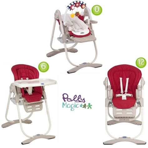 chaise haute polly magic 3 en 1 pas cher chicco chaise haute 3 en 1 polly magic scarlet
