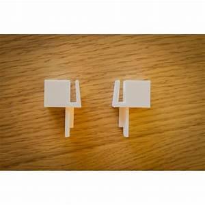 guides placards form ou optimum blancs With guide porte de placard