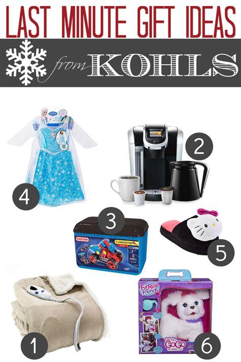 kohls christmas gifts last minute gift ideas from kohls open 24 7