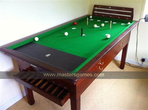 bar billiards table for sale