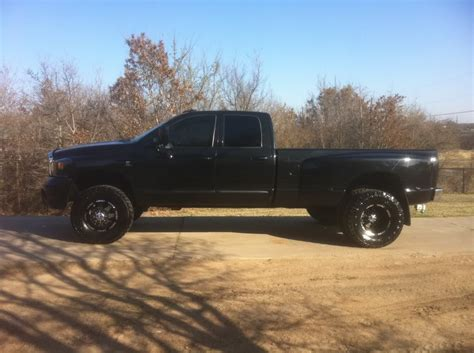 Ultra goliath black dually rims   Dodge Diesel   Diesel