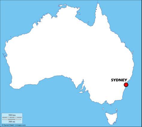 Carte Geographique Du Monde Australie by Sydney Carte Monde My