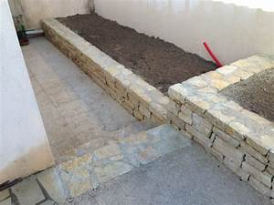 Construction En Pierre : construction de muret en pierre les jardins de la ~ Premium-room.com Idées de Décoration