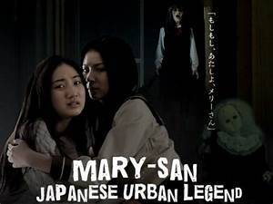 Mary San Japanese Urban Legend Scary Website