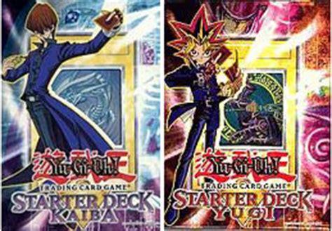 original yugioh starter decks yugioh unlimited edition original yugi kaiba starter