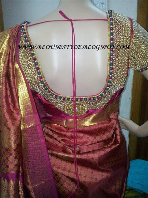 models  blouse designs heavy beads work designer blouse
