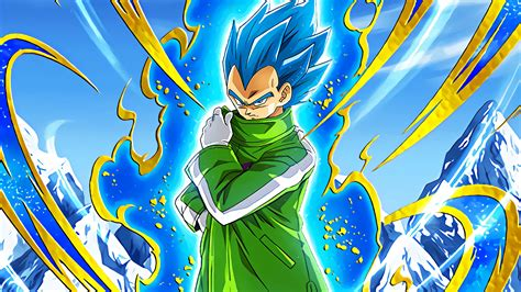 super saiyan blue vegeta dragon ball super broly