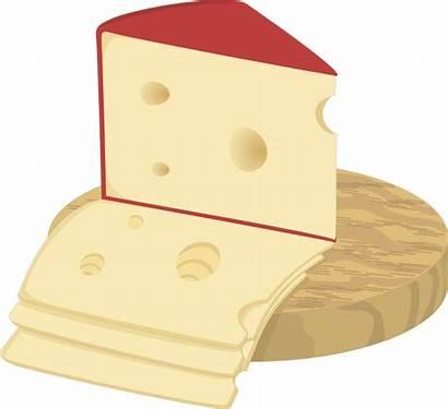 Cheese Clipart Dairy Swiss Milk Cut Board